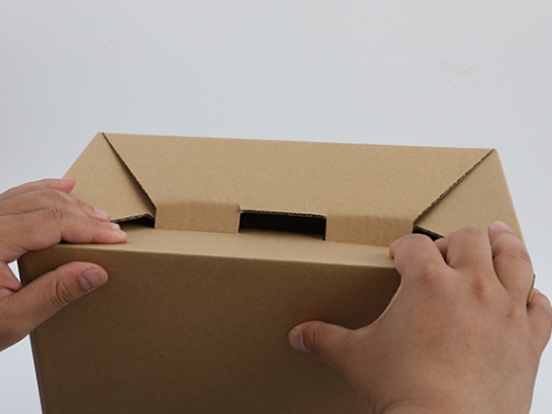 纸箱快速成型底