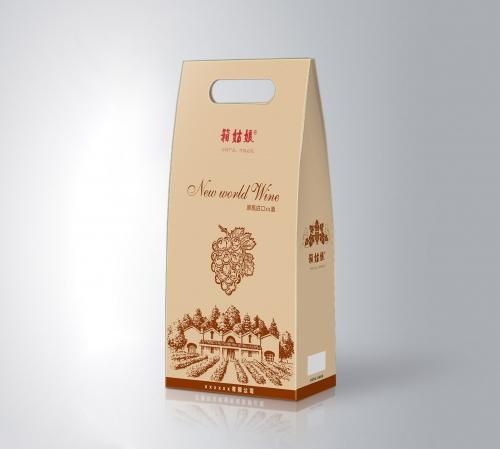 金华红酒盒白酒礼品盒